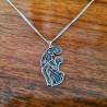 Komplet Kruk Odyna z łańcuszkiem Srebro