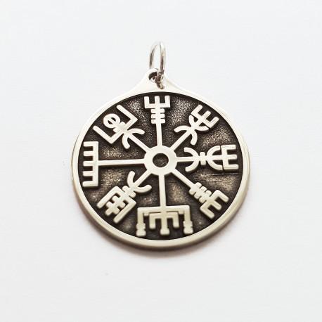 Zawieszka pełna Kompas Wikingów VEGVISIR
