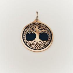 Yggdrasil Drzewo Życia- Zawieszka pełna z brązu
